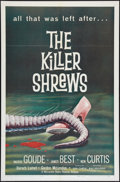 "Movie Posters:Science Fiction, The Killer Shrews (McLendon Radio Pictures, 1959). One Sheet (27"" X41""). Science Fiction.. ..."