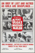 "Movie Posters:Sexploitation, Mme. Olga's Massage Parlor (American Film, 1965). One Sheet (27"" X41""). Sexploitation.. ..."