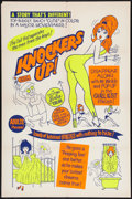 "Movie Posters:Sexploitation, Knockers Up (Unknown, 1963). One Sheet (28"" X 42""). Sexploitation....."