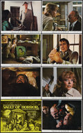 """Movie Posters:Horror, Vault of Horror (Fox Rank, 1973). British Front of House Color Setof 8 (8"""" X 10""""). Horror.. ... (Total: 8 Items)"""