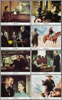"""The Shootist (Paramount, 1976). Mini Lobby Card Set of 8 (8"""" X 10""""). Western. ... (Total: 8 Items)"""