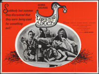 """Lord Love a Duck & Other Lot (United Artists, 1967). British Quads (2) (30"""" X 40""""). Comedy. ... (Total: 2..."""