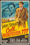 "Movie Posters:Film Noir, Call Northside 777 (20th Century Fox, 1948). One Sheet (27"" X 41"").Film Noir.. ..."