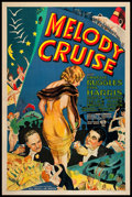 """Movie Posters:Musical, Melody Cruise (RKO, 1933). One Sheet (27"""" X 41""""). Musical.. ..."""