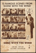 "Movie Posters:Academy Award Winners, Gone with the Wind (MGM, R-1961). Poster (40"" X 60""). Academy Award Winners.. ..."