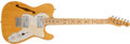 Musical Instruments:Electric Guitars, 1973 Fender Telecaster Thinline Natural Electric Guitar # 421032...