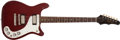Musical Instruments:Electric Guitars, 1963 Epiphone Wilshire SB-432 Cherry Red Electric Guitar #134777...