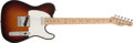 Musical Instruments:Electric Guitars, 2006 Fender Telecaster USA Highway 1 Sunburst Electric Guitar, #Z6170999....