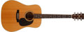 Musical Instruments:Acoustic Guitars, 1975 Martin D-76 Limited Edition Bicentennial Natural AcousticGuitar, #371728....