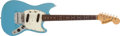 Musical Instruments:Electric Guitars, 1967 Fender Mustang Sonic Blue Electric Guitar # 184466...
