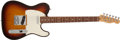 Musical Instruments:Electric Guitars, 1983 Fender Telecaster Sunburst Electric Guitar # E 321856...
