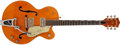 Musical Instruments:Electric Guitars, 1959 Gretsch 6120 Chet Atkins Orange Hollow Body Electric Guitar #31692...