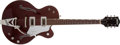 Musical Instruments:Electric Guitars, Modern Gretsch Tennessee Rose Burgundy Semi-Hollow Electric Guitar,#JT05063380....
