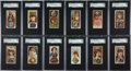 """Non-Sport Cards:Sets, 1889 N218 """"Gems of the World"""" Complete Set (25) - #1 on the SGC SetRegistry! ..."""