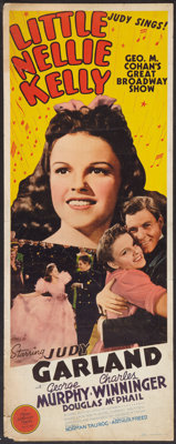 "Little Nellie Kelly (MGM, 1940). Insert (14"" X 36""). Musical"