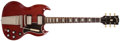 Musical Instruments:Electric Guitars, 1965 Gibson SG Standard Cherry Solid Body Electric Guitar, #303469....