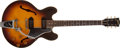 Musical Instruments:Electric Guitars, Circa 1959 Gibson ES-330 TD Sunburst Thin Hollowbody Electric # NA...