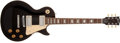 Musical Instruments:Electric Guitars, 1992 Gibson Les Paul Standard Black Electric Guitar, #90702365....