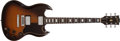 Musical Instruments:Electric Guitars, 1974 Gibson SG Standard Tobacco Sunburst Electric Guitar #409448...