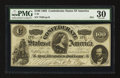 Confederate Notes:1862 Issues, T49 $100 1862 PF-2.. ...
