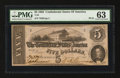 Confederate Notes:1862 Issues, T53 $5 1862 PF-10.. ...