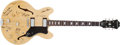 Musical Instruments:Electric Guitars, 1993 Epiphone USA Riviera Blonde Semi-Hollow Body Electric Guitar #B1563382...