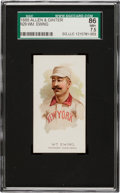 Baseball Cards:Singles (Pre-1930), 1888 N29 Allen & Ginter The World's Champions-2nd Series Wm.Ewing SGC 86 NM+ 7.5 Pop 1 With One Higher!...