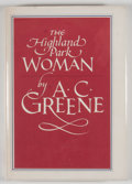 Books:Signed Editions, A. C. Greene. SIGNED. The Highland Park Woman. Bryan: Shearer Publishing, [1983]. First edition. Signed. Octavo....