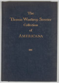 Books:Non-fiction, Edward J. Lazare [editor]. The Celebrated Collection of Americana Formed by the Late Thomas Winthrop Streeter, Index....