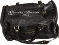 "Baseball Collectibles:Others, Mickey Mantle Signed ""Fantasy Camp"" Leather Duffle Bag...."