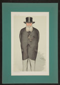Antiques:Posters & Prints, Vanity Fair. Two Color Prints, including Hon. Thomas CharlesBruce and Andrew Carnegie. [London: 1903]. General mild... (Total:2 Items)