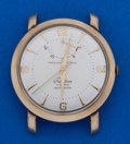 Timepieces:Wristwatch, Swiss Gold Filled Automatic Wristwatch With Wind Indicator . ...