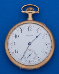 Howard 12 Size 14k Gold 17 Jewel Pocket Watch