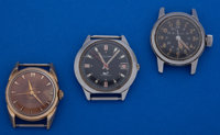 A Lot Of Three Vintage Bulova's Wristwatches Runners