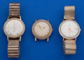 Timepieces:Wristwatch, A Lot Of Three Automatic Wristwatches. ... (Total: 3 Items)