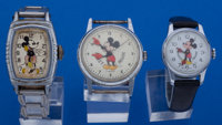 Three Mickey Mouse Wristwatches For Restoration