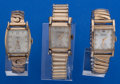 Timepieces:Wristwatch, A lot Of Three Vintage Wristwatches Runners. ... (Total: 3 Items)