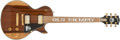 Musical Instruments:Electric Guitars, 1998 Gibson Les Paul Old Hickory Electric Guitar, #OH156.. ...