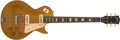 Musical Instruments:Electric Guitars, 1952 Gibson Les Paul Gold Top Electric Guitar, #N/A....