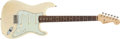 Musical Instruments:Electric Guitars, 1959 Fender Stratocaster Hardtail Blonde Electric Guitar,#40100....