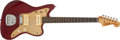 Musical Instruments:Electric Guitars, 1959 Fender Jazzmaster Red Electric Guitar, #33706....