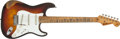 Musical Instruments:Electric Guitars, 1959 Fender Stratocaster Sunburst Electric Guitar, #35621....