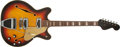 Musical Instruments:Electric Guitars, 1967 Fender Coronado II Sunburst Electric Guitar #196850....