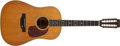 Musical Instruments:Acoustic Guitars, 1971 Martin D-12-35 Natural Acoustic Guitar, #274595....