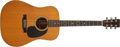 Musical Instruments:Acoustic Guitars, 1971 Martin D-28 Natural Acoustic Guitar, #283511. ...