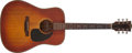 Musical Instruments:Acoustic Guitars, 1970-72 Gibson J-45 Deluxe Sunburst Acoustic Guitar, #728455. ...