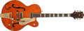 Musical Instruments:Electric Guitars, 1955 Gretsch 6120 Orange Hollow-Body Electric Guitar, #16515. ...