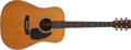 Musical Instruments:Acoustic Guitars, 1976 Martin D-28 Natural Acoustic Guitar, #377321....