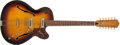 Musical Instruments:Electric Guitars, 1960s Framus S/042 Sunburst 12-String Semi-Hollow Electric Guitar,#63192....