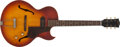 Musical Instruments:Electric Guitars, 1960 Gibson ES-125 Sunburst Semi-Hollow Electric Guitar, #R673330....